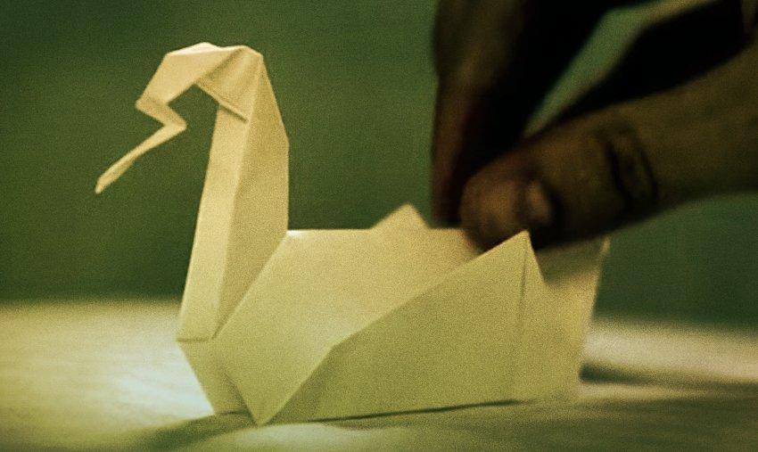Как сделать оригами из побега 935