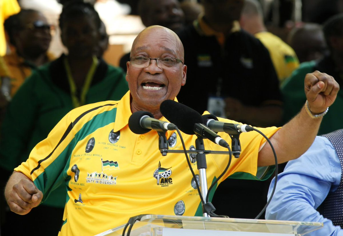 What does South Africa's President Jacob Zuma really want for his birthday?