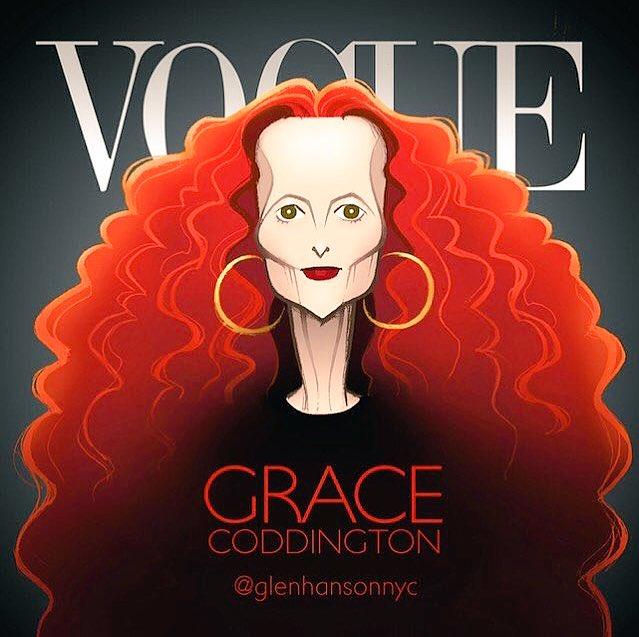 Happy Birthday to Fashion Legend... Baby Grace Coddington!