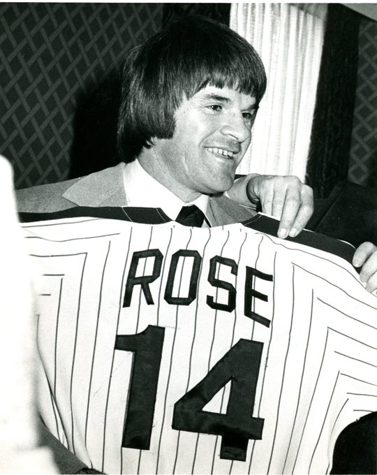 Happy Birthday, Pete Rose. 76 candles.  See you at the Toyota Wall of Fame induction on August 12.