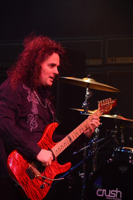 "Happy Birthday Vinnie Moore!  Red Zone Rider - ""By The Rainbow s End\"""