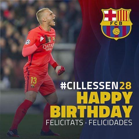 Happy 28th Birthday to Jasper Cillessen!