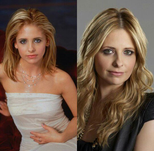 So honored to share a birthday with this badass slayer. Happy birthday Sarah Michelle Gellar!