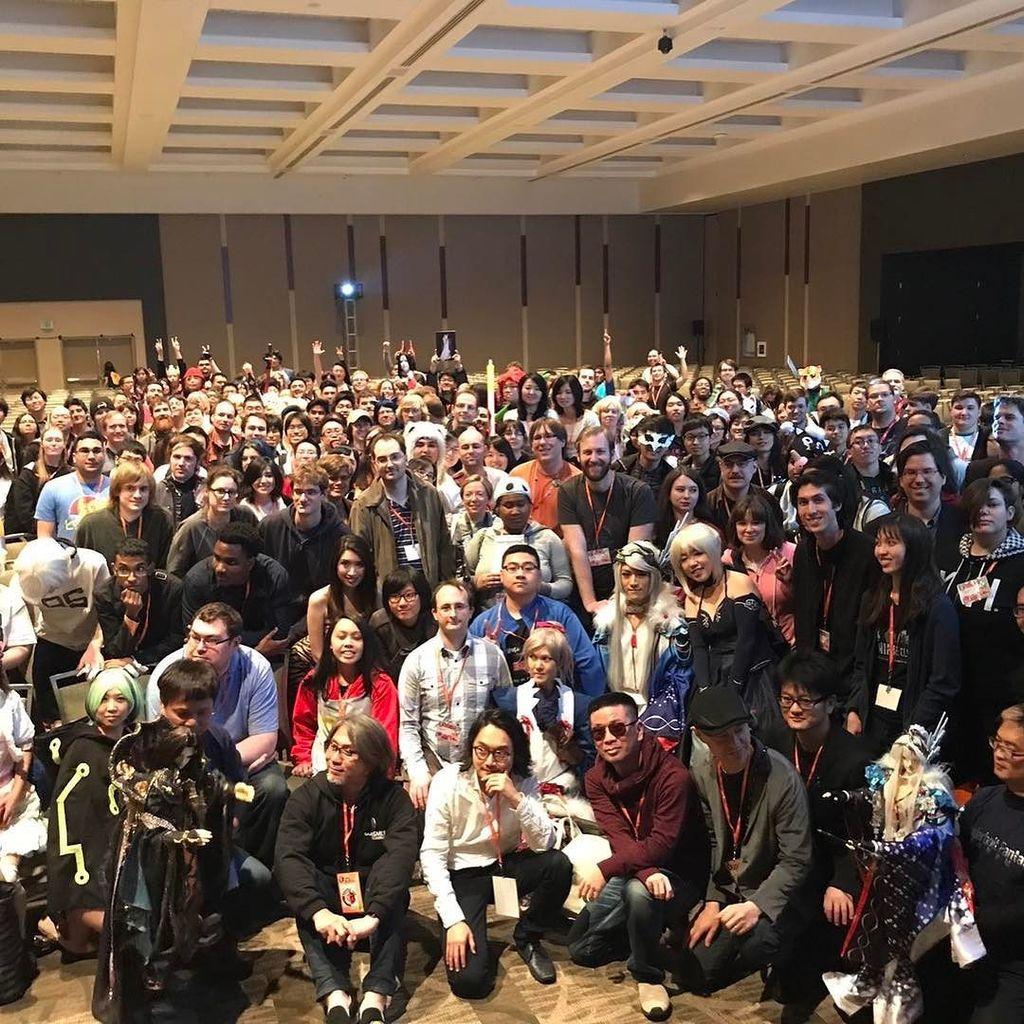 シアトルのサクラCONで、サンダーボルトファンタジー祭りをしてきました。現地の熱心なファンの方々とも触れ合えて大満足です
