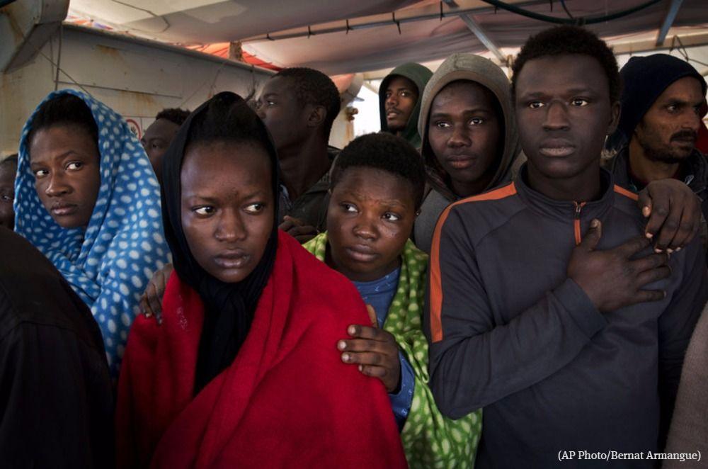 Italy plucks 2,000 migrants from the Mediterranean Sea