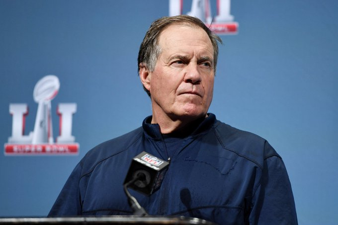 Patriots head coach Bill Belichick turns 65 today