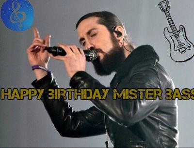 Happy birthday mister bass