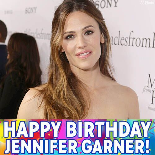 Happy 45th birthday to actress Jennifer Garner!