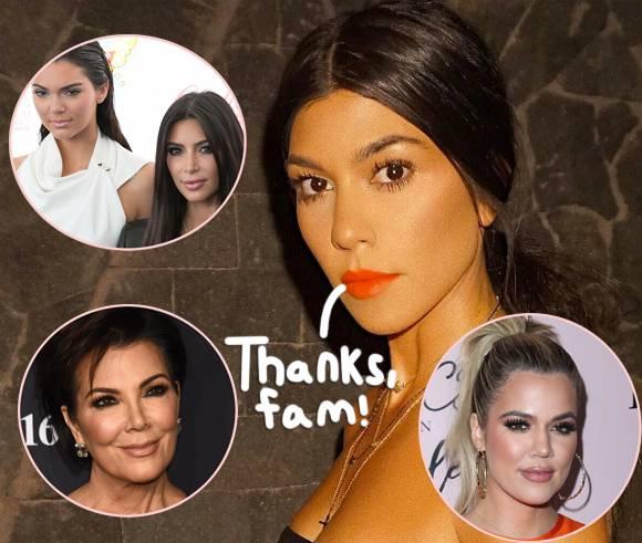 Kourtney Kardashian\s Loved Ones Flock To The Internet To Wish Her A Very Happy Birthday!