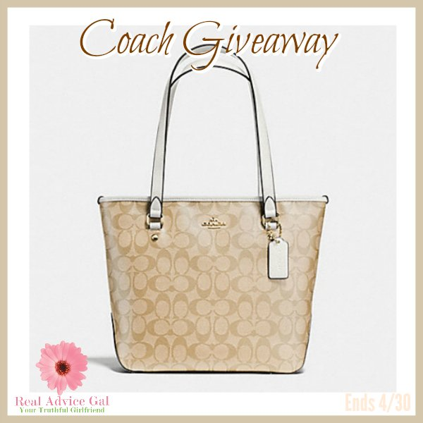Coach Purse Giveaway (4/30 US)