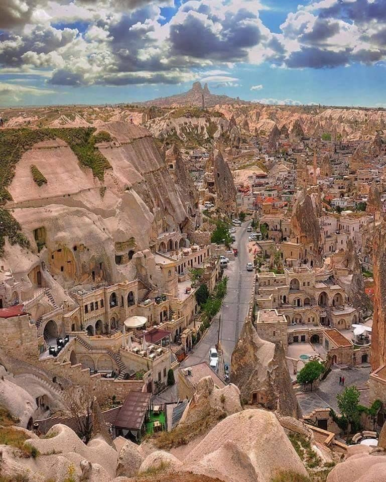 Old shaped beautiful City Cappadocia, Turkey https://t.co/xYoGnOmqAz