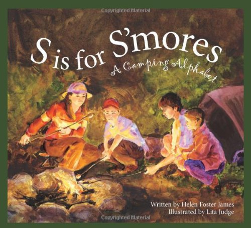 S Is for S'mores: A Camping Alphabet (Alphabet Books) #books #news #giveaway #free