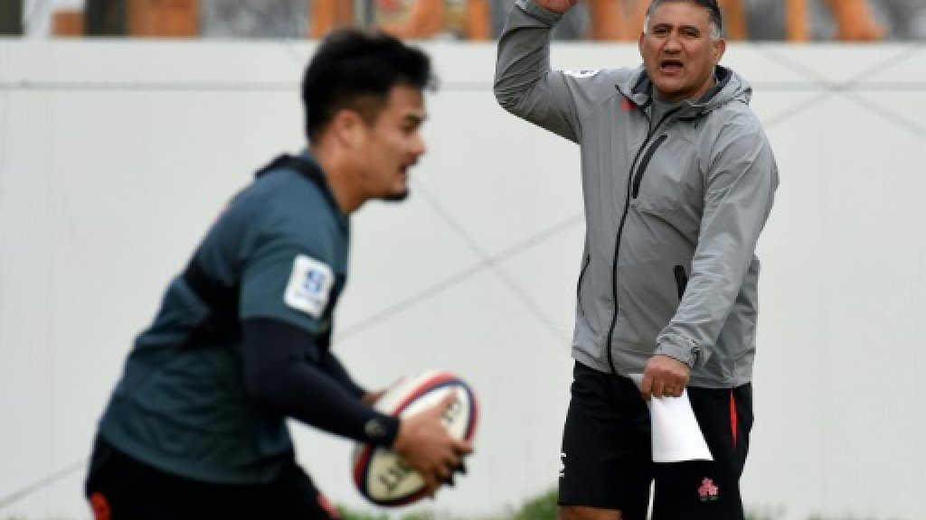 Japan coach Joseph seeks World Cup clues in Asia dust-up