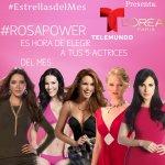 Vamos a Votar x @LuceroMexico, Elige a tus #EstrellasDelMes Actrices Equipo #RosaPower aqui ► https://t.co/SANZh9HHwe http://t.co/h8vc41GBVn