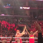 Champs. @HulkHogan @WWE  #raw #snoopmania http://t.co/6S9PwQGYRM