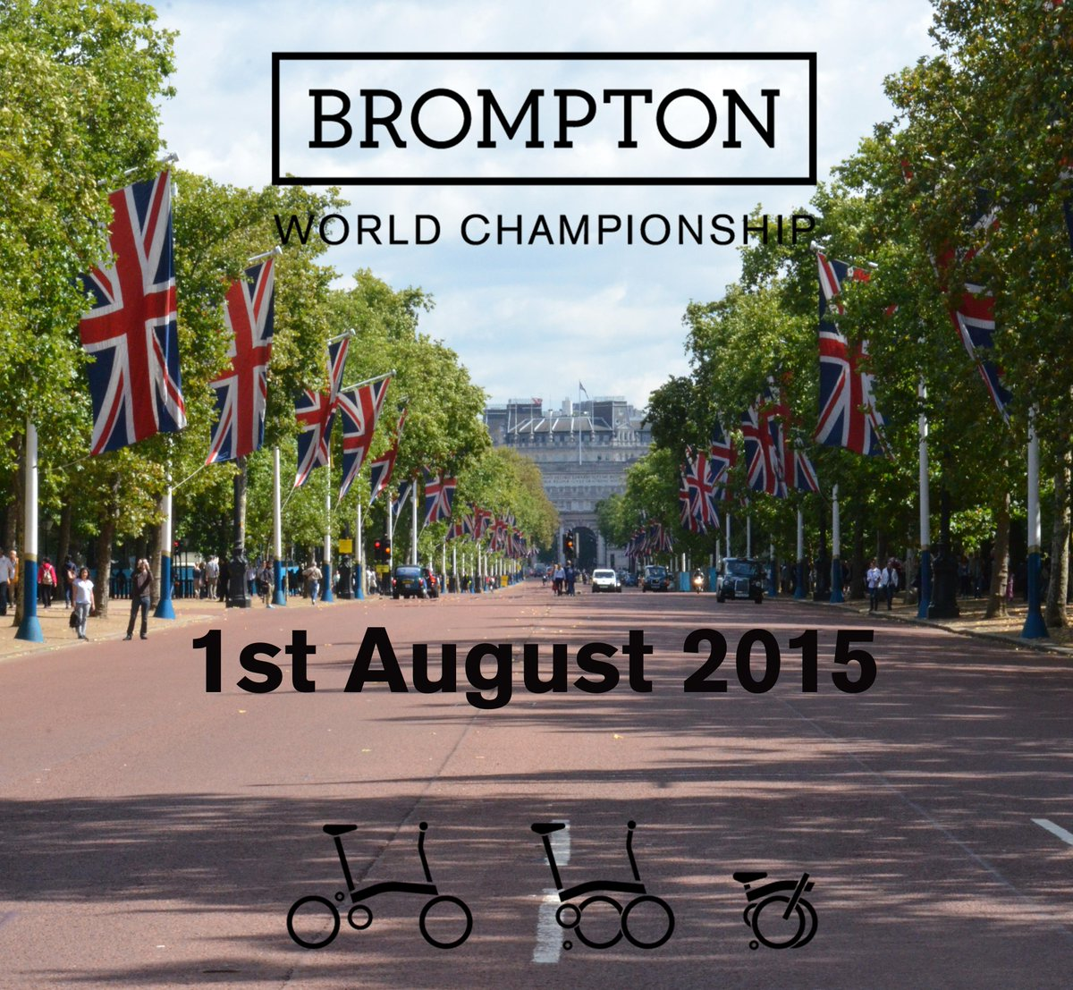 10th Brompton World Championship comes to London! Register: http://t.co/ajOpm8CViJ #BWC2015 #RideLondon @RideLondon http://t.co/fjXr1cKvAe