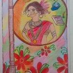 RT @RahejaVinod: Will the lovely ladies RT this drawing by Tanvi , my friends daughter oj Women empowerment . @bainjal @divyadutta25 http:/…