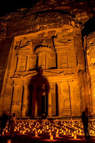 """Take only photographs, leave only shadows"" - making my mark on the Treasury in Petra #ngtuknomad http://t.co/3gAwFsbisE"