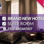 RT & Follow to #WIN this a stay in this 5* hotel: http://t.co/CKVaYL6OoD. #FreeStayFriday #Competition. Winner @ 4 http://t.co/Skam8144L8