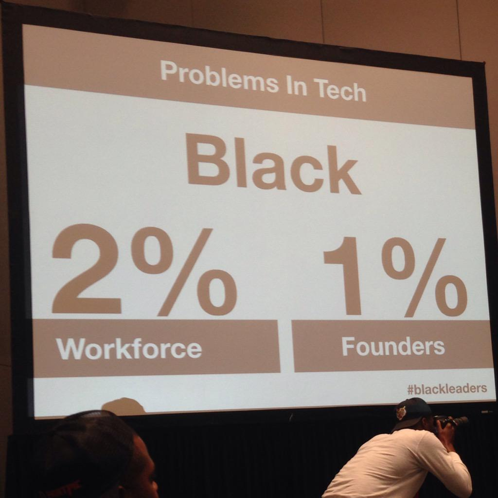 """This is not [just] a tech problem. This is an American History problem."" - @waynesutton #blackleaders http://t.co/IbGSnMsP2C"
