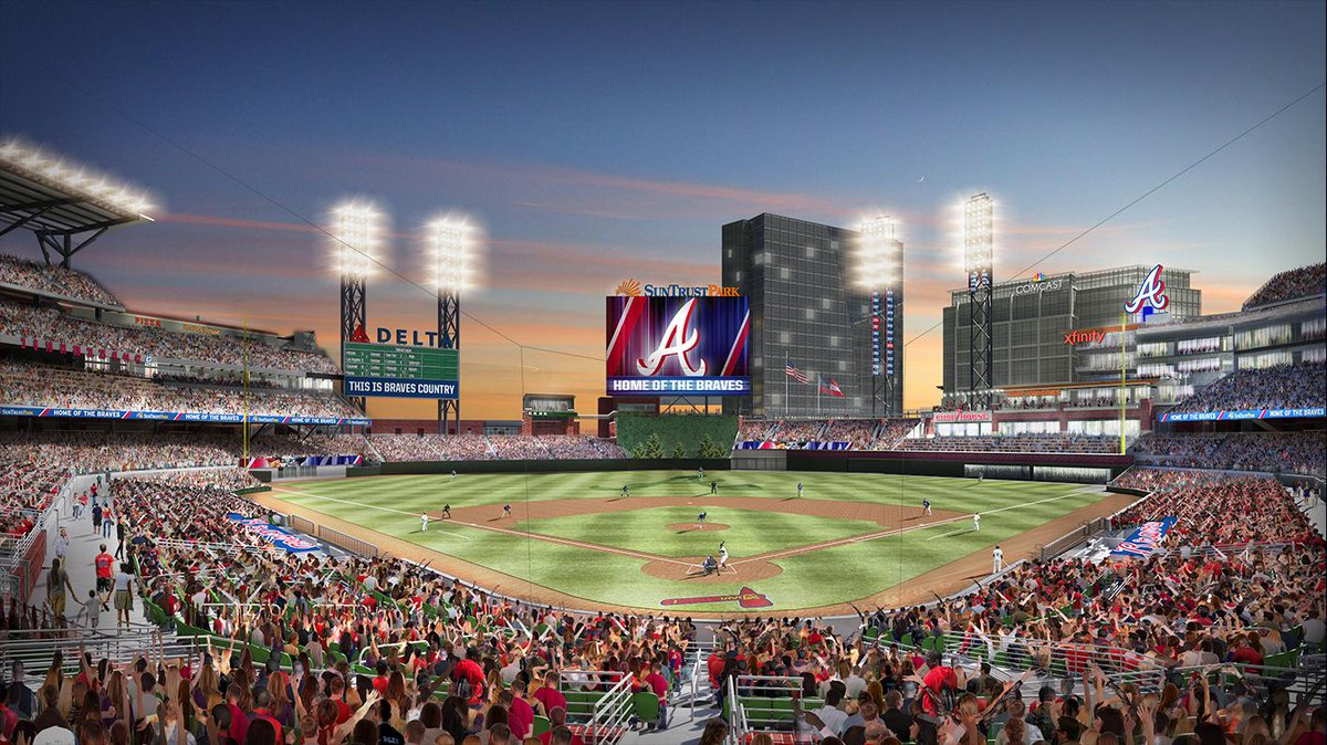 We're teaming up w/ the @Braves to power the nation's most technologically advanced ballpark. http://t.co/bkQynZv1bV http://t.co/3OG95nN7nw