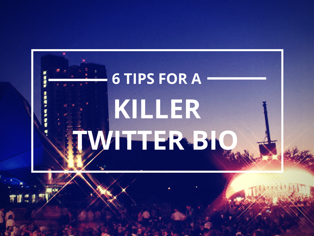 How to craft the perfect Twitter bio for growing your audience: http://t.co/SFy8T3gO29 #TwitterTips #SocialMedia http://t.co/sLz69JiOBD