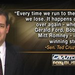 MT @CNM_Michael: Every time we run to the middle we lose. It happens over & over again ~Ted Cruz https://t.co/DhUhDhhHZU #CruzCrew #PJNET