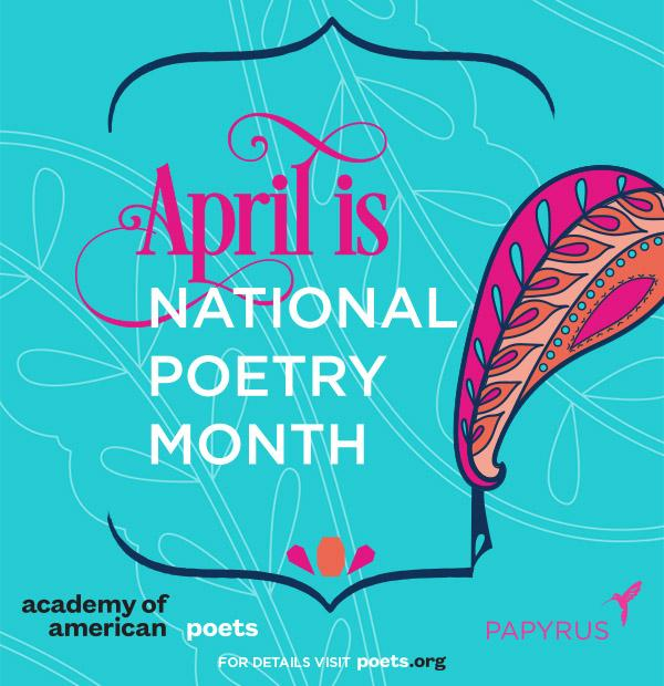 #NationalPoetryMonth starts on April 1 & we've partnered up with @POETSorg to celebrate. #PAPYRUS #love #poetrymonth http://t.co/HotNegXHfd