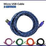 .@Dlsistemas **ATENCION** Cable de Datos USB de Nylon, 2 Metros ,Colores Variados,550 Bs #Lara http://t.co/8hb2ux57f5 http://t.co/OAp4OQIphB