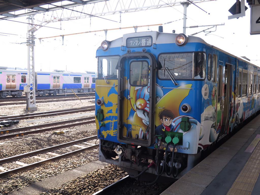 女川に電車でいってくるっぺ!今日から女川線全線開通! http://t.co/xdZ9r3wtY4
