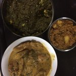 Love thy Neighbour. Especially if she sends you dabba of yummy food. #Paneer #Chicken #Kheema. http://t.co/GEJUDE9TFl