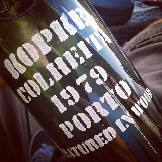 A great way to end the weekend. #1979 #portwine #portugal a wine to reflect with. And I love the reflection. http://t.co/Jo3iirOaeo