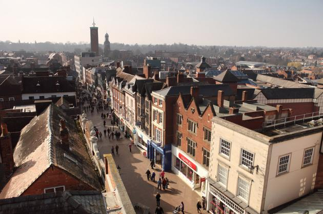 Shrewsbury tops UK's Healthiest High Streets table | http://t.co/8nENwDIDsa #shropshire http://t.co/mMThUCVtPi