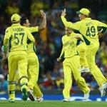#CWC2015 #INDvsAUS Australia reach the World Cup finals. Beat India by 95 runs. Will meet New Zealand on Sunday. http://t.co/U7PdiVnASU