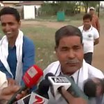 Reporter: Do you think your son son played well? Tilak Yadav (Father of Cricketer Umesh Yadav): What good? India lost http://t.co/FjQIdk16yU