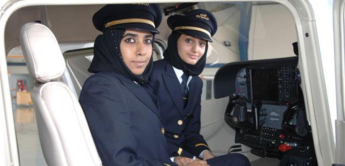 قوموا بقراءة قصة أول مساعدة طيار إماراتية الملهمة: سلمى