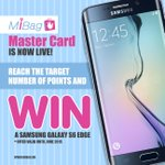 Our MiBag Master Card is now live! Collect points and win the new Samsung Galaxy S6 Edge! #Dubai #GalaxyS6edge #prize http://t.co/DS0uUnniul