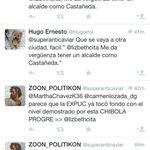 Parece que los fans de Castañeda creen que me van a asustar diciéndome chibola progre jajajajaja http://t.co/0ebcMLmhix