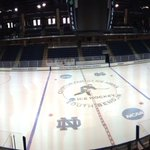#NotreDame @NDCFIA all decked out for the NCAA regionals. RT @LTorbin http://t.co/dbGprw14AO