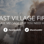 If you are in #NYC and are displaced by the fire, msg. @ForefrontMH. We want to help. http://t.co/dXcKnPLKLc