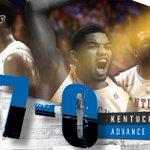 37-0! Kentucky clobbers West Virginia, 78-39. #UKvsWVU #Sweet16 http://t.co/YI5uiazZ5Q