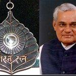 Former PM #AtalBihariVajpayee to be conferred #BharatRatna today. http://t.co/DvQbp5736J