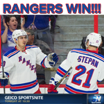 RANGERS WIN and CLINCH a playoff spot! 5-1 over Ottawa http://t.co/pWTZu4TLC8