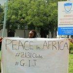 #Peace in Africa #LCFI #2131clubs #GIJ... @BBCWorld @cnn @jayfoley2131 @official2131 http://t.co/XHsRbzWo5E