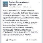 #DiegodeAlmagro aun sin ayuda, están sin luz, agua ni alimento. Difundan!!! http://t.co/BYcbMZCxxJ