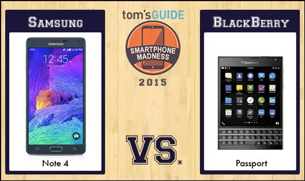 Vote in the final matchup of Round 2! @BlackBerry Passport vs. @SamsungMobileUS Galaxy Note 4 http://t.co/zgw7x1Is37 http://t.co/W3I91VVMS6