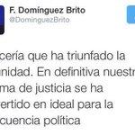 #EnVivo #Ahora►Lectura #FélixBautista. El tuit que escribió Dominguez Brito y que fue borrado. http://t.co/xwlVSxgEZo