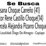 URGENTE AYUDA 1 ADULTO Y 2 NIÑOS DESAPARECIDOS ! #ChileBusca #DiegodeAlmagro #RegionAtacama @ahoranoticiasAN http://t.co/AUisxeRHoG
