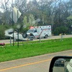 Really bad accident blocking 430 southbound just S of Col Glenn in #LittleRock - traffic backed up >1 mile @THV11 http://t.co/accL3uSI0h