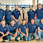 @KElectricPk cricket team at Airport, leaving for Sialkot to play semi final of #PatronsTrophy Good Luck! #Karachi http://t.co/Vq5jWIqVyq